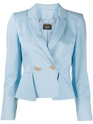 Liu Jo Double Breasted Peplum Blazer 60