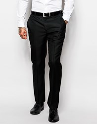 Asos Slim Tuxedo Suit Trousers Black
