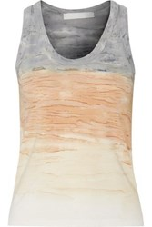 Kain Label Beryl Printed Stretch Modal Tank Gray
