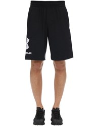 Under Armour Sportstyle Logo Cotton Sweat Shorts Black