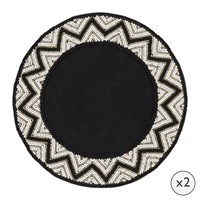 Amara Addison Beaded Placemats Set Of 2