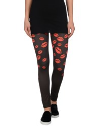 Annarita N. Trousers Leggings Women Black