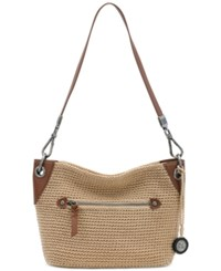 The Sak Indio Crochet Demi Bag A Macy's Exclusive Style Bamboo