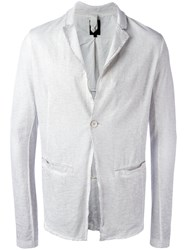 Thom Krom One Button Blazer Grey