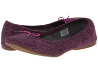Sanuk Yoga Prima Berry Animal Dot Women's Flat Shoes Purple