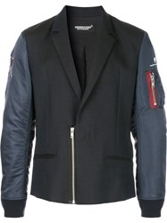 Undercover Panelled Combo Jacket Black