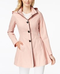 Laundry By Shelli Segal Skirted Back Bow Trench Coat Dusty Pink
