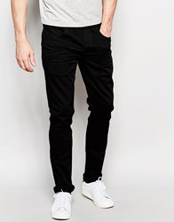 French Connection Stretch Skinny Fit Jeans Black
