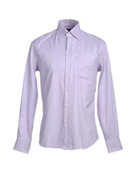 Andrea Morando Shirts Long Sleeve Shirts Men