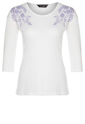 Dorothy Perkins Long Sleeved Top Ivory Off White