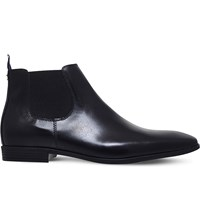 Kg By Kurt Geiger Waldock Leather Chelsea Boots Black