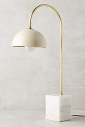 Anthropologie Winding Course Table Lamp Cream