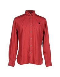 U.S. Polo Assn. U.S.Polo Assn. Shirts Shirts Men Red