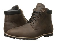 Woolrich Beebe Bitter Chocolate Leather Men's Boots Brown
