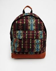 Mi Pac Aztec Print Backpack Multi