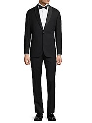 Vince Camuto Slim Fit Wool Tuxedo Black