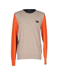 Frankie Morello Sweaters Sand
