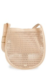 Skagen Janna Perforated Leather Hobo