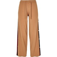 River Island Petite Camel Knitted Tape Joggers