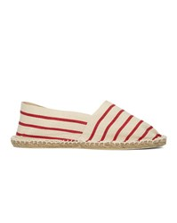 Armor Lux Red White Espadrille