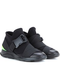 Christopher Kane High Top Sneakers Black