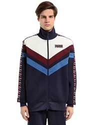 Fenty X Puma Zip Up Cotton Track Jacket Sweatshirt