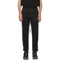 D By D Black Taped Lounge Pants