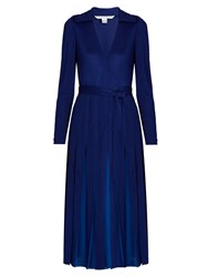 Diane Von Furstenberg Stevie Dress Dark Blue