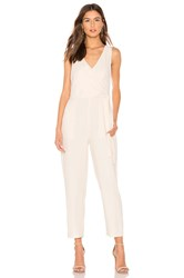 1.State Wrap Front Jumpsuit Ivory