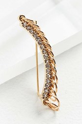 Urban Outfitters Looped Ring Statement Ear Cuff Gold