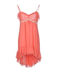Toy G. Short Dresses Coral