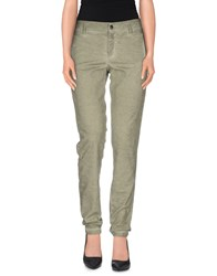 Kaos Jeans Trousers Casual Trousers Women Military Green