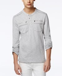 Inc International Concepts Men's Armory Long Sleeve Henley Only At Macy's