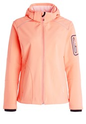 Cmp F.Lli Campagnolo Soft Shell Jacket Peach Flamingo Rose