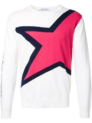 Education From Youngmachines Star Jumper White