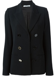Barbara Casasola Double Breasted Blazer Black