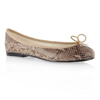 French Sole India Snake Leather