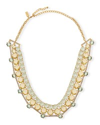 Carnival Crystal Statement Necklace Mint Women's Kate Spade New York