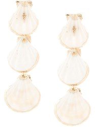 Mercedes Salazar Tropic Earrings White