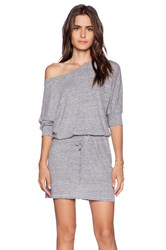 Lanston Boyfriend Dress Gray