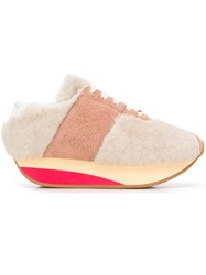 Marni Bigfoot Sneakers Pink