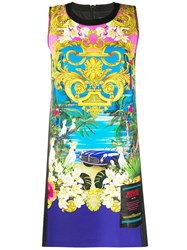 Versace Jeans Couture Beach Print Dress 60