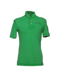 Napapijri Polo Shirts Green