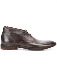 Officine Creative Standard Boots Men Buffalo Leather Calf Leather 42.5 Black