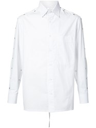 Craig Green Backless Shirt Unisex Acetate Xxs White