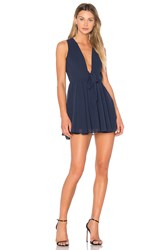 Lovers Friends X Revolve Andie Dress Blue