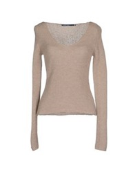 Private Lives Sweaters Khaki