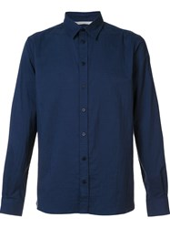 Norse Projects Classic Shirt Blue
