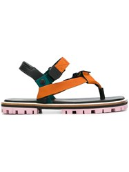 Paul Smith Strappy Buckled Sandals Black