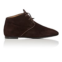 The Row Women's Ada Desert Boots Dark Brown Gold Dark Brown Gold